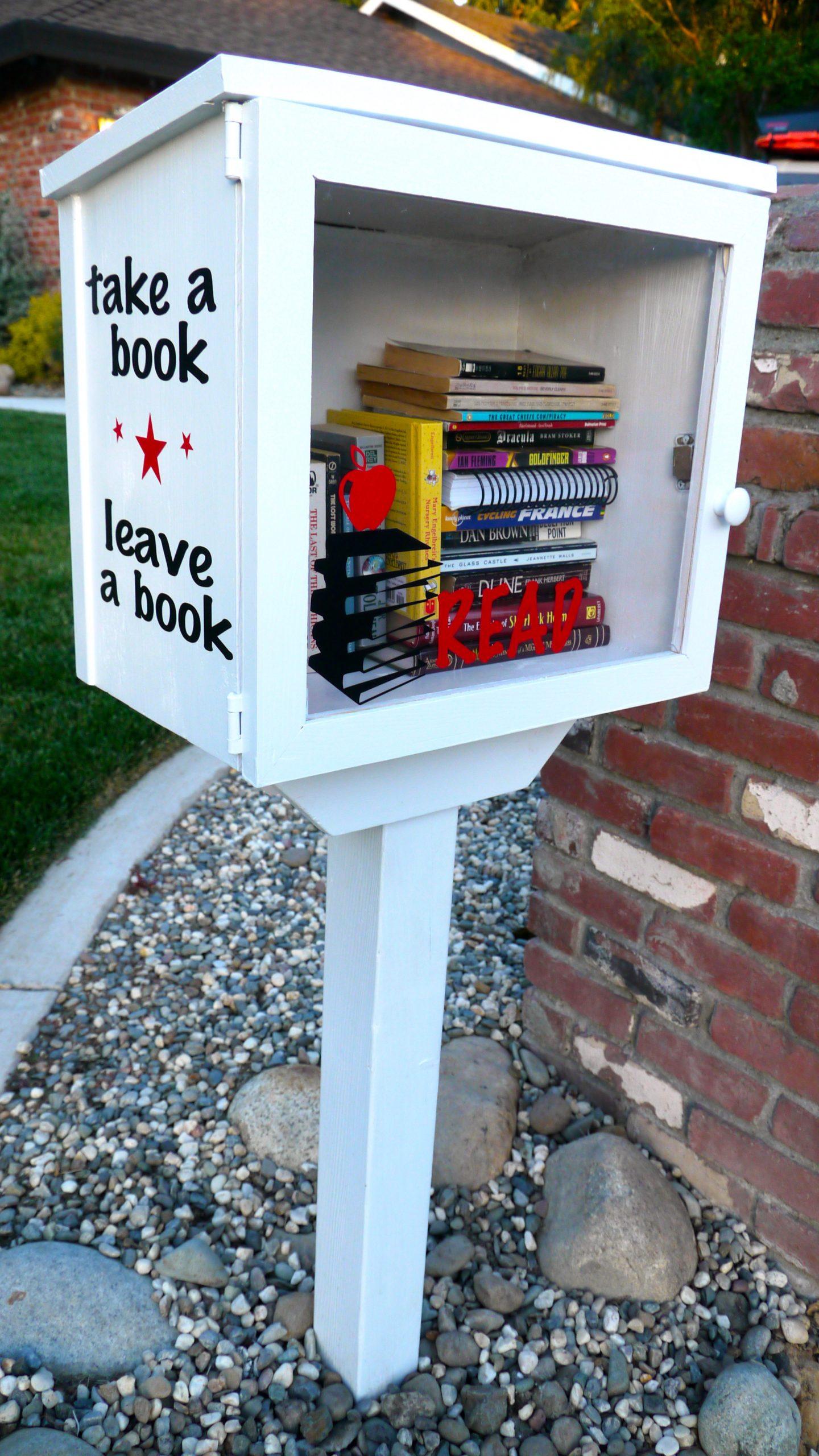 1 ლარი – 1 წიგნი და პატარა სახლი